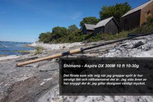 Fiskespö test - Shimano Aspire DX 300M