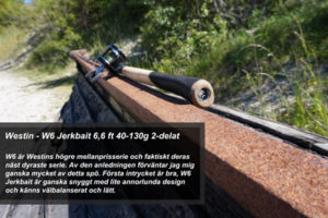 Fiskespö test - Westin W6 Jerkbait