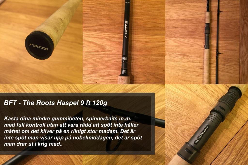 BFT Roots H 9 ft -120g, Haspel
